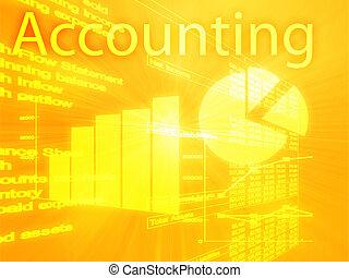 boekhouding, illustratie