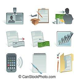 boekhouding, pictogram