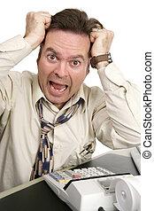 boekhouding, reeks, -, help!