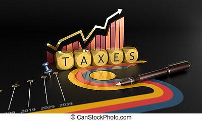boekhouding, reform, belasting, economie