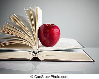 boekjes , appel, rood