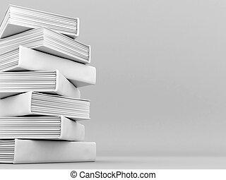 boekjes , banden, en, literatuur
