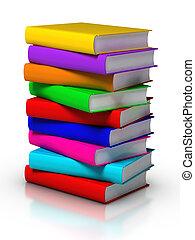 boekjes , kleurrijke