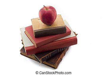 boekjes , oud, appel