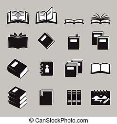 boekjes , set, pictogram