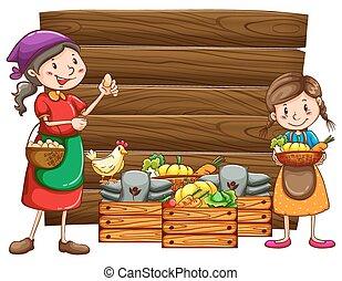 boerderij, producten
