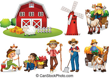 boerderij, set