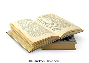 bog, åbn