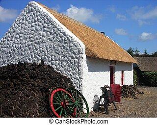 bog village in Ireland
