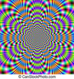 Boggle Eyed Psychedelic - Digital abstract fractal image ...