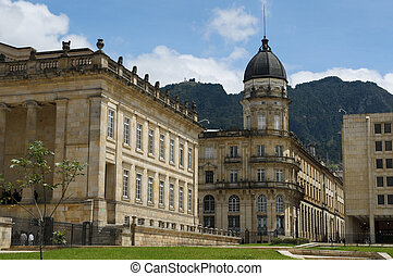 bogota, national, capitole, colombie