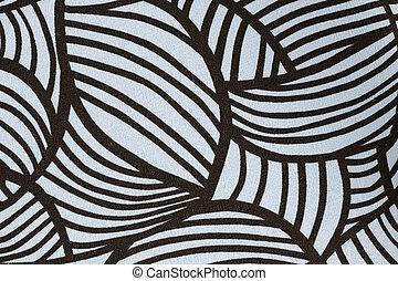 cloth. black and white color bohemian style, Boho, vintage, retro texture background