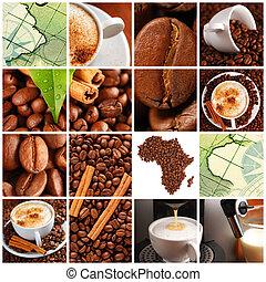 bohnenkaffee, collage