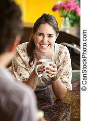 bohnenkaffee, friends, becher