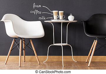 bohnenkaffee, friends, einladen, dein