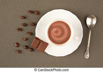 bohnenkaffee, schmackhaft