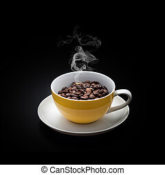 Bohnenkaffee, Tasse - Bony Nguyen