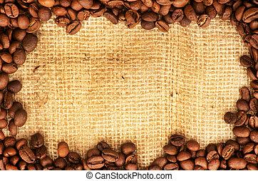 bohnenkaffee, umrandungen