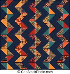 Boho seamless pattern - Big seamless african boho background...