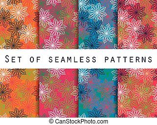 Boho seamless pattern. Vector