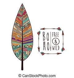 boho style design, vector illustration eps10 graphic