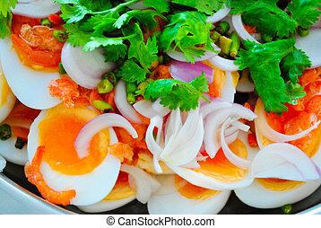 boiled egg salad
