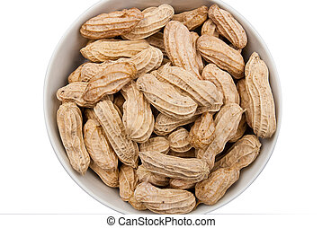 Boiled peanuts - Bowl of boiled peanuts