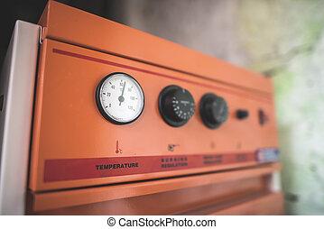 Boiler for central heating