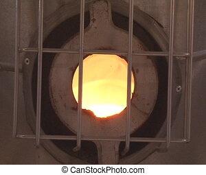 boiler furnace door - Boiler furnace door hatch and heat,...