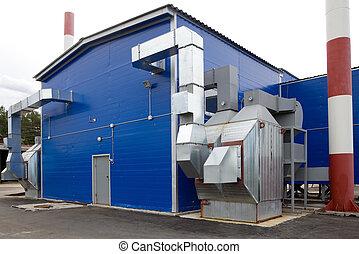Boiler on biofuel