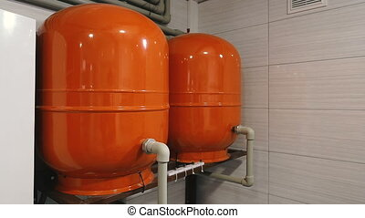 Boiler room in a private house