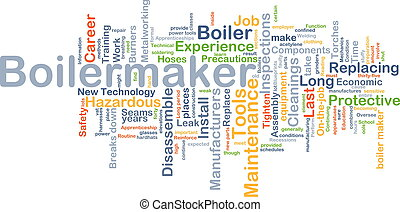 boilermaker, conceito, fundo
