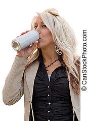 boire, femme