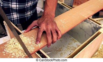 bois, atelier, fonctionnement, métier, charpentier