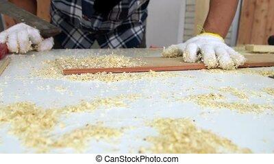 bois, atelier, métier, fonctionnement, charpentier