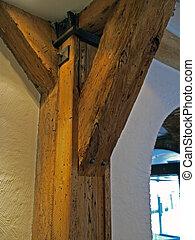 bois, bois construction, faisceau