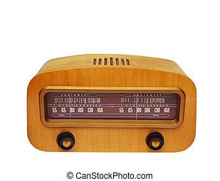 bois, bonne radio, façonné