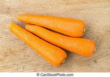bois, carotte, fond