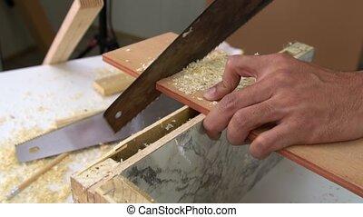 bois, charpentier, fonctionnement, métier, atelier
