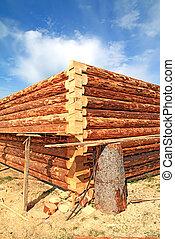 bois, construction bâtiments