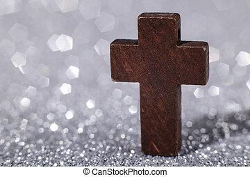 bois, croix