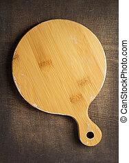 bois, découpage, fond, planche, texture