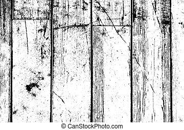 bois, détresse, planches