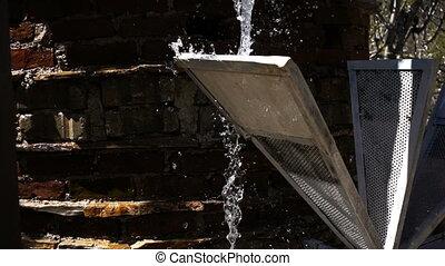 bois, eau, moulin
