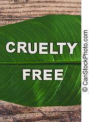 bois, feuille, texte, banane, exotique, gratuite, sommet, lettres, cruauté