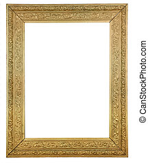 bois, image, or, plaqué