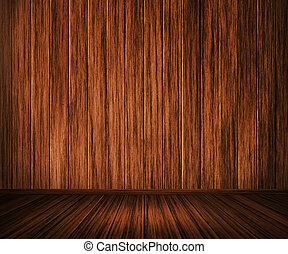 bois, intérieur, fond