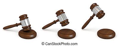 bois, juges, marteau