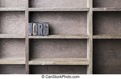 bois, lettre, .org