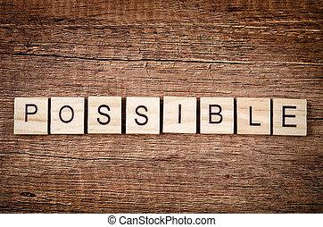 bois, mot, possible, spelled, blocks.
